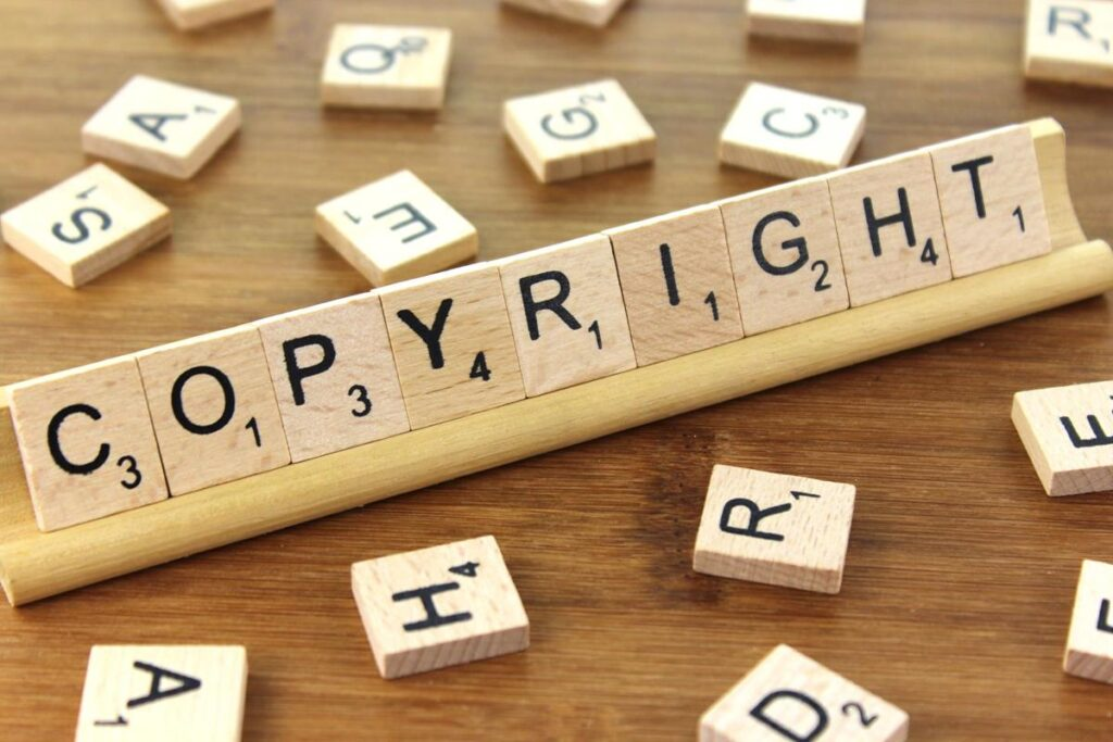 Do Not Publish Copyrighted Content