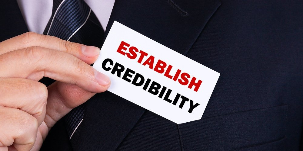 Establishes Credibility